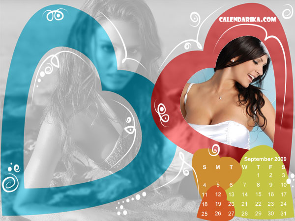 Calendar Wallpaper. Motley Hearts
